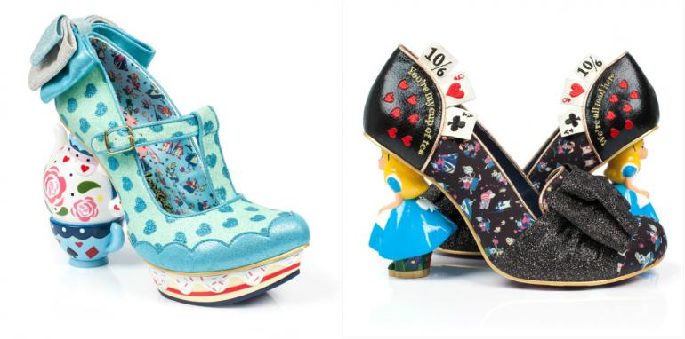 Alice in wonderland shoes (4)