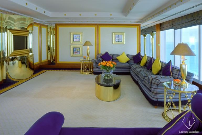 The Panoramic Suite Living Area in the Lower Level where you can entertain.
