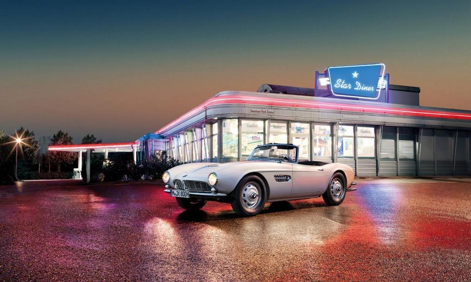 Elvis Presley BMW 507 (9)