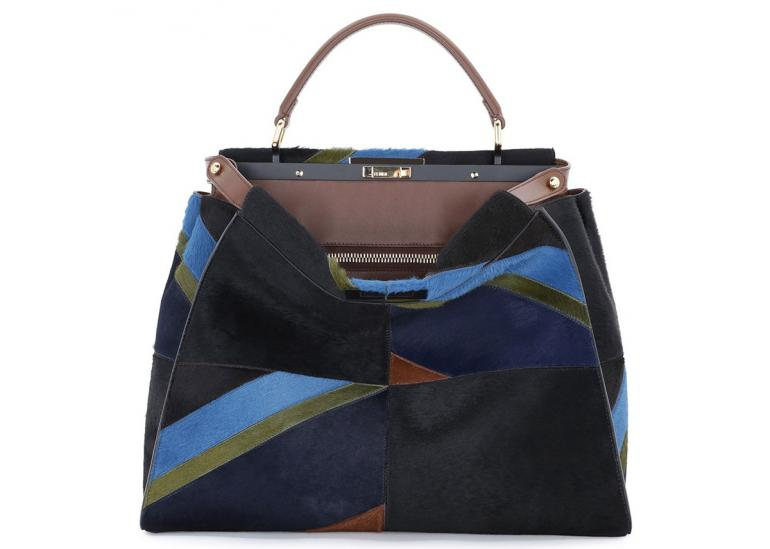 Fendi-Calf-Hair-Peekaboo-Bag