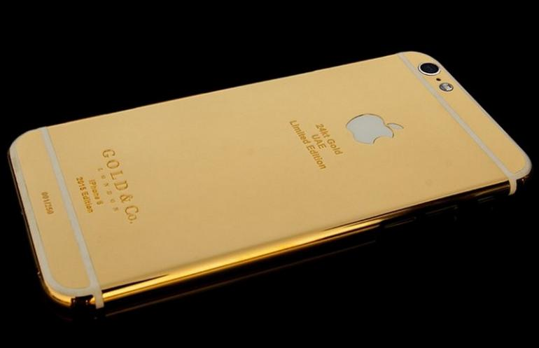 Gold & Co. Basic iPhone