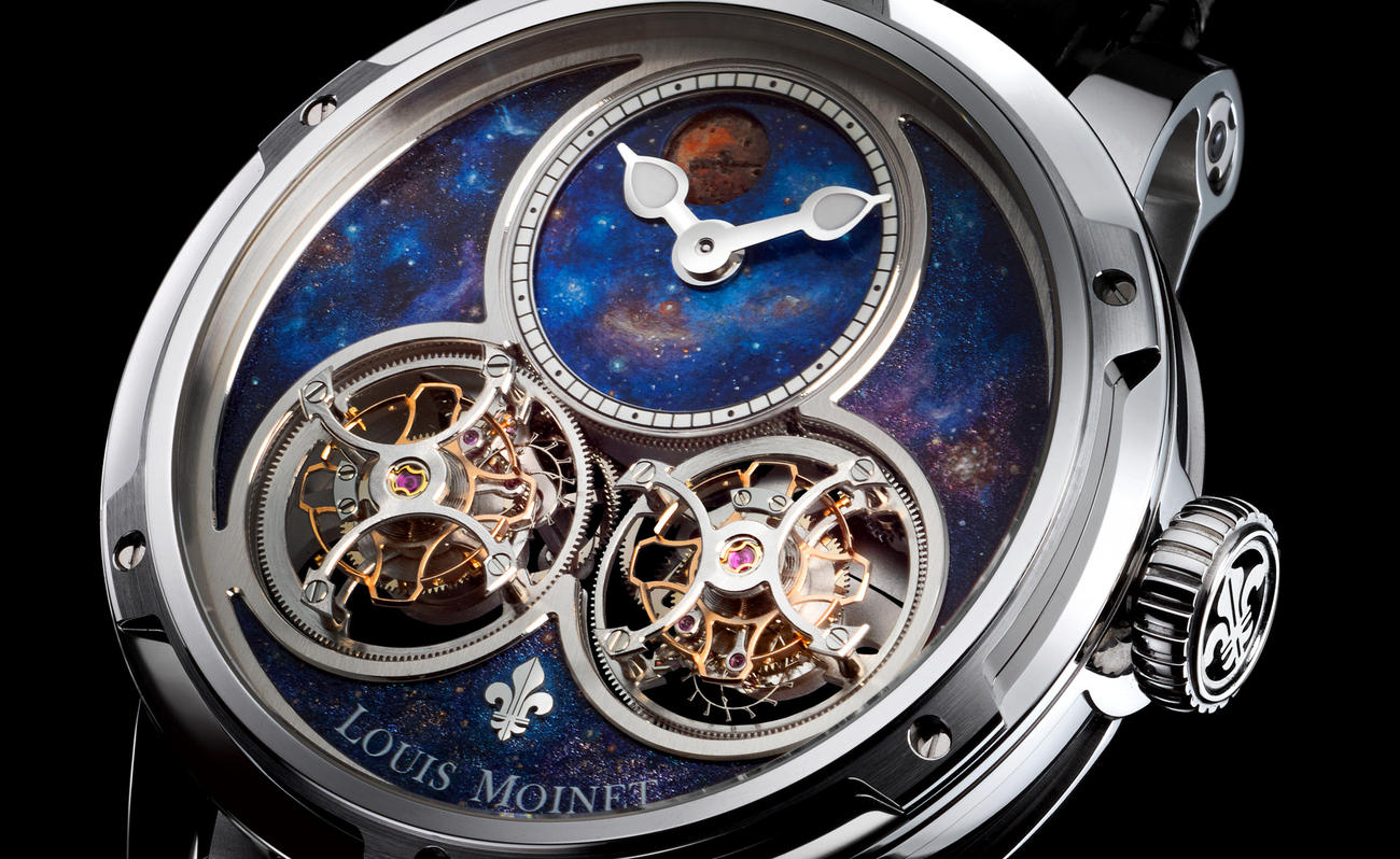 Louis Moinet Sideralis Inverted Double Tourbillon Has The