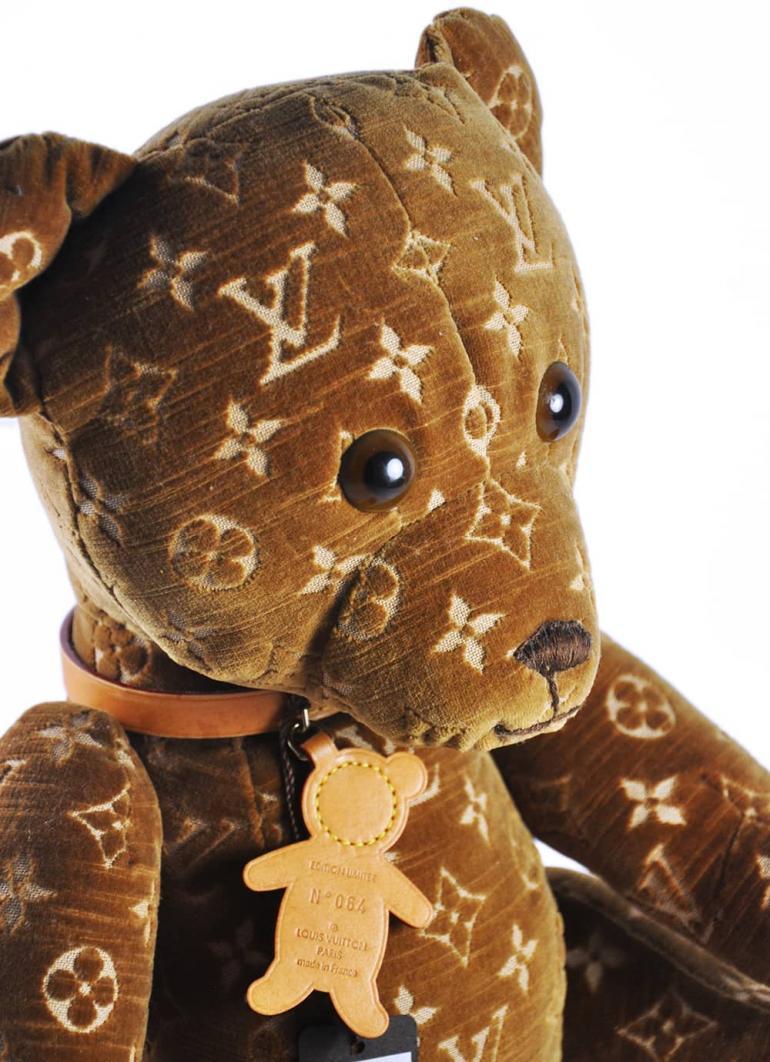 Louis Vuitton Monogram Bear