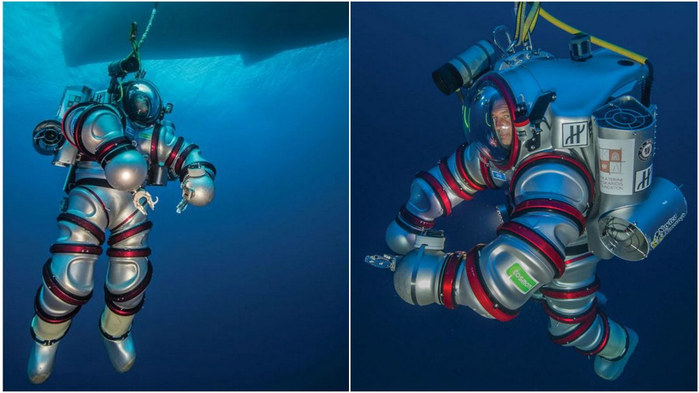 For adventurers - A $825k exosuit that will transform you into a human submarine : Luxurylaunches