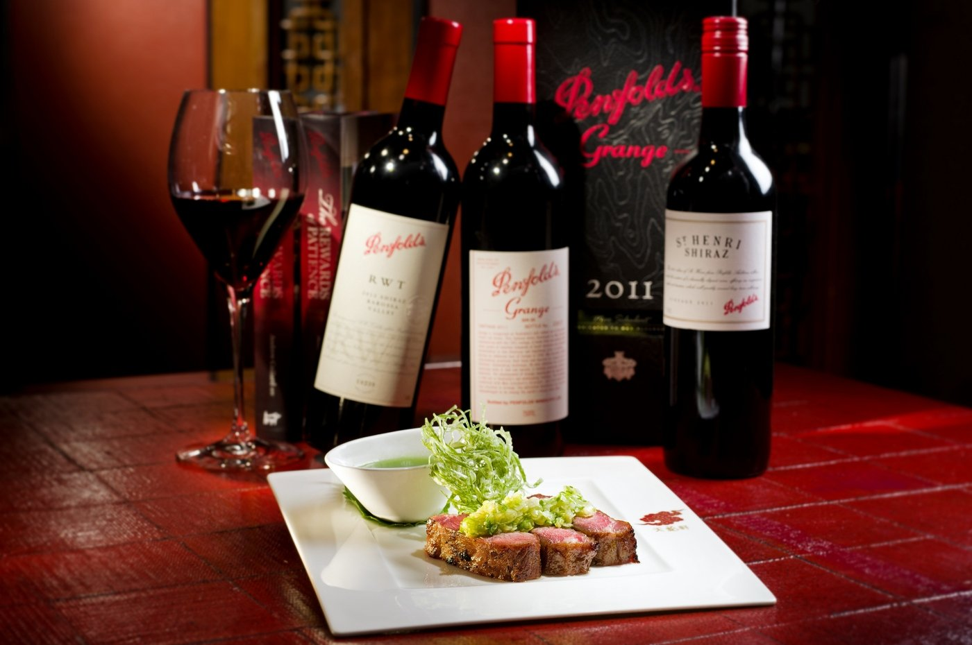 Penfolds Wine And A Michelin D 233 Gustation Menu At The Ritz