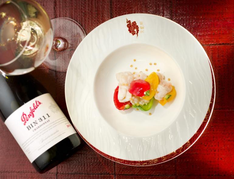 Penfolds wine and a Michelin dégustation menu at The Ritz-Carlton Hong Kong (2)