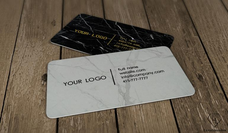 Real Marble Business card collection