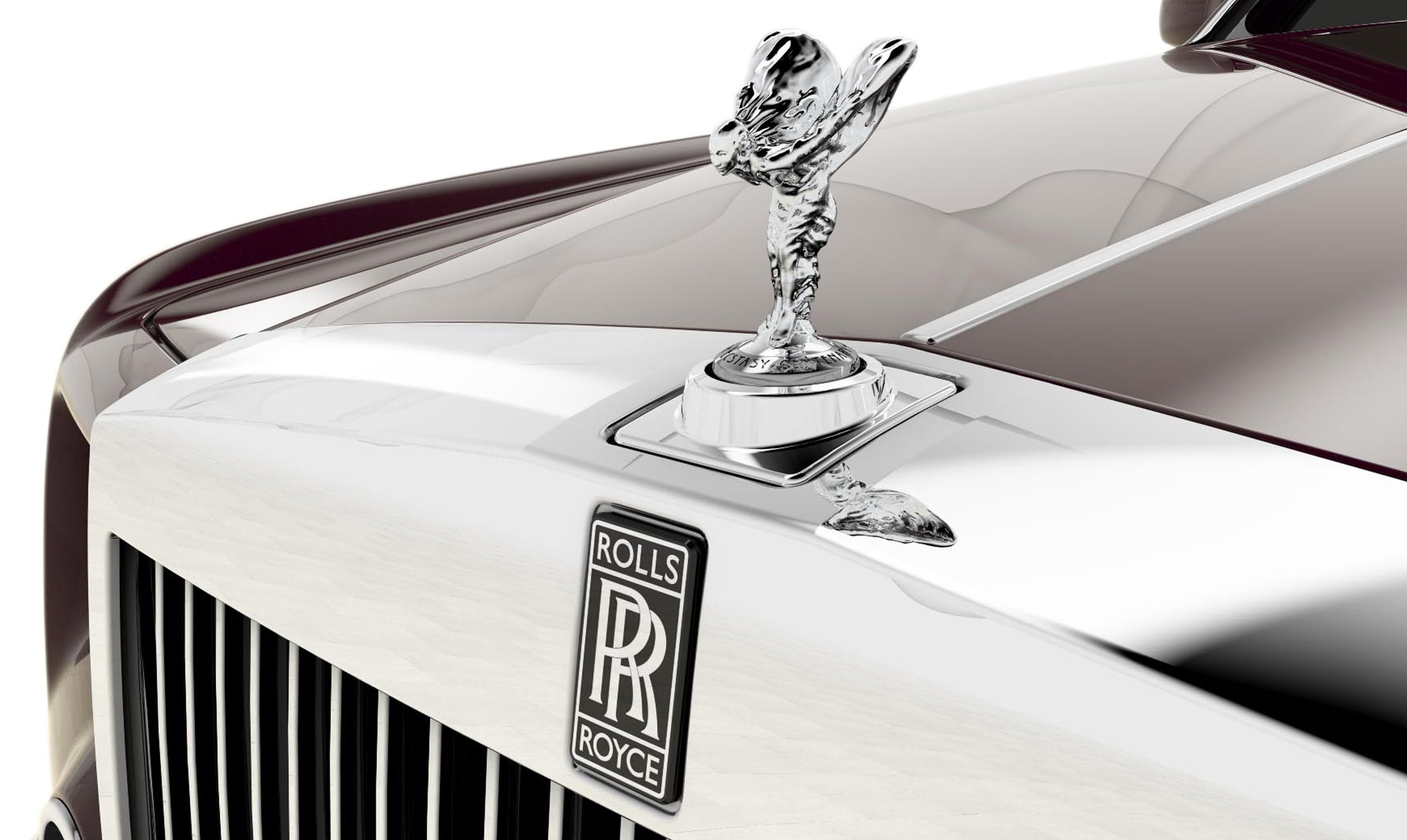 only the flash can flick the retractable rolls-royce spirit of