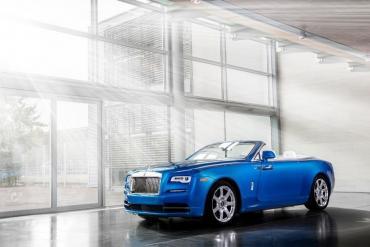 Rolls Royce unveils three custom Dawns