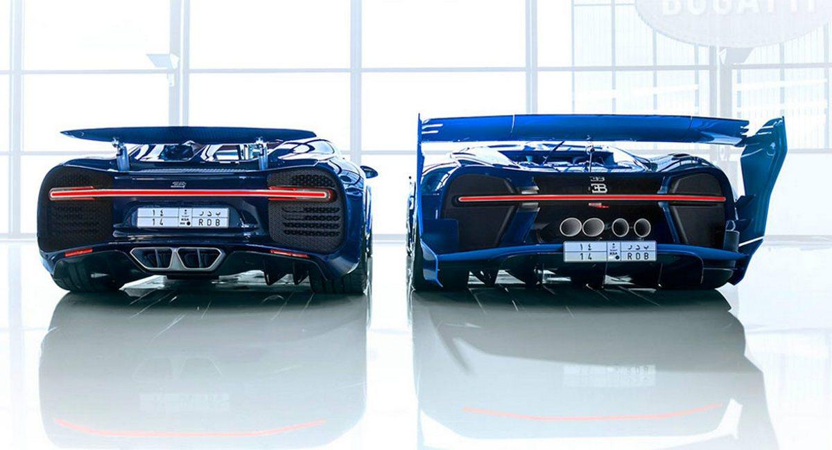 Saudi Prince Bugatti Chiron and the Vision GT Concept (2)