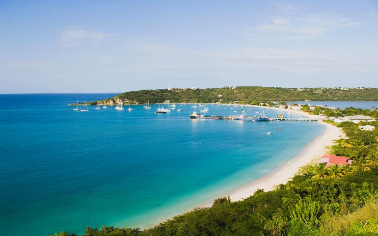 View of Anguilla