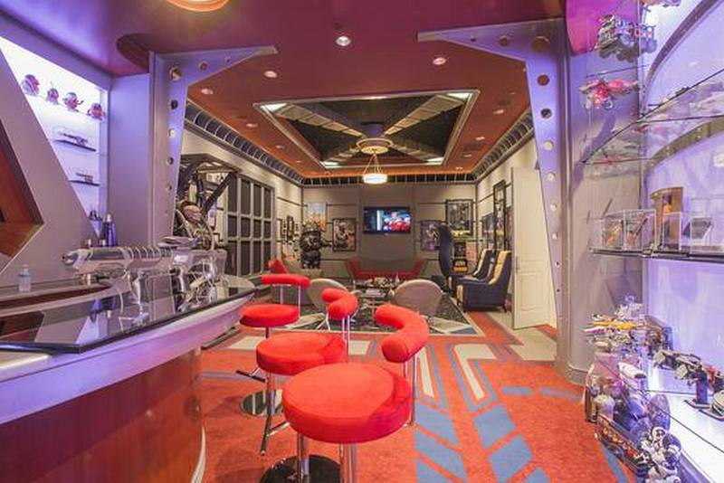 Inside The 1 5 Million Star Trek Themed Home Theater That