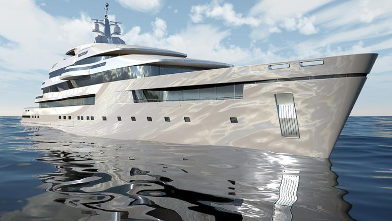Transparent yacht (1)