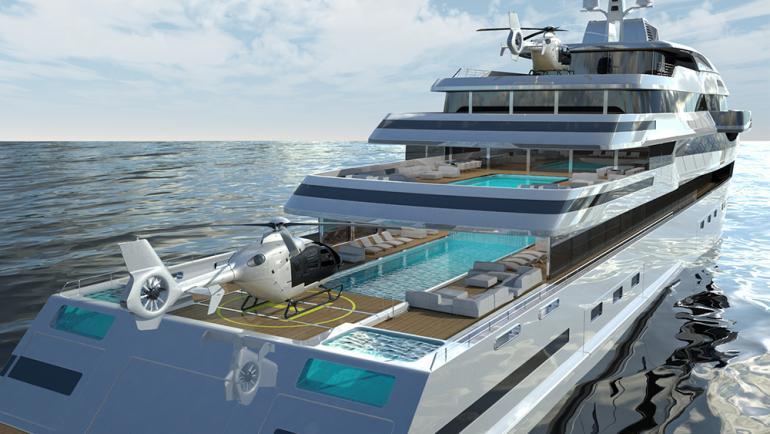 Transparent yacht (2)