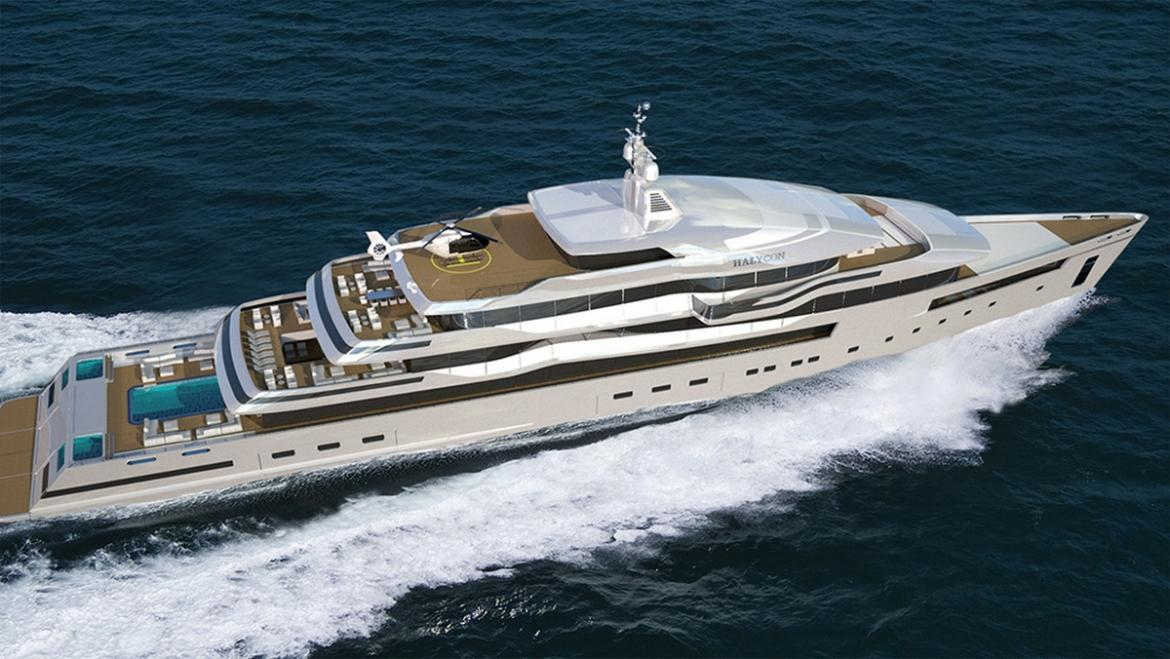 Superyachten concept  This jaw-dropping superyacht concept packs glass bottom pools ...