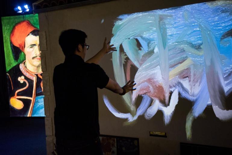 Van Gogh dramatic new exhibit (5)