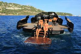 Yacht transforms into floating party pad (1)