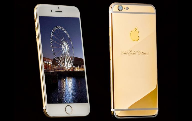 iphone 6s solid gold by goldstriker