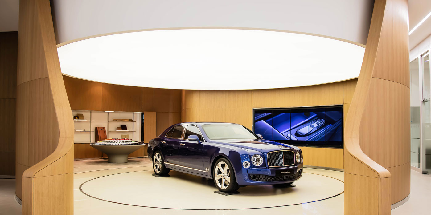 Bentley Has Opened Its Largest Showroom And Guess Where