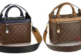 Classic handbags with color stickers - We are loving Louis Vuitton s ... bdf69b5323c24