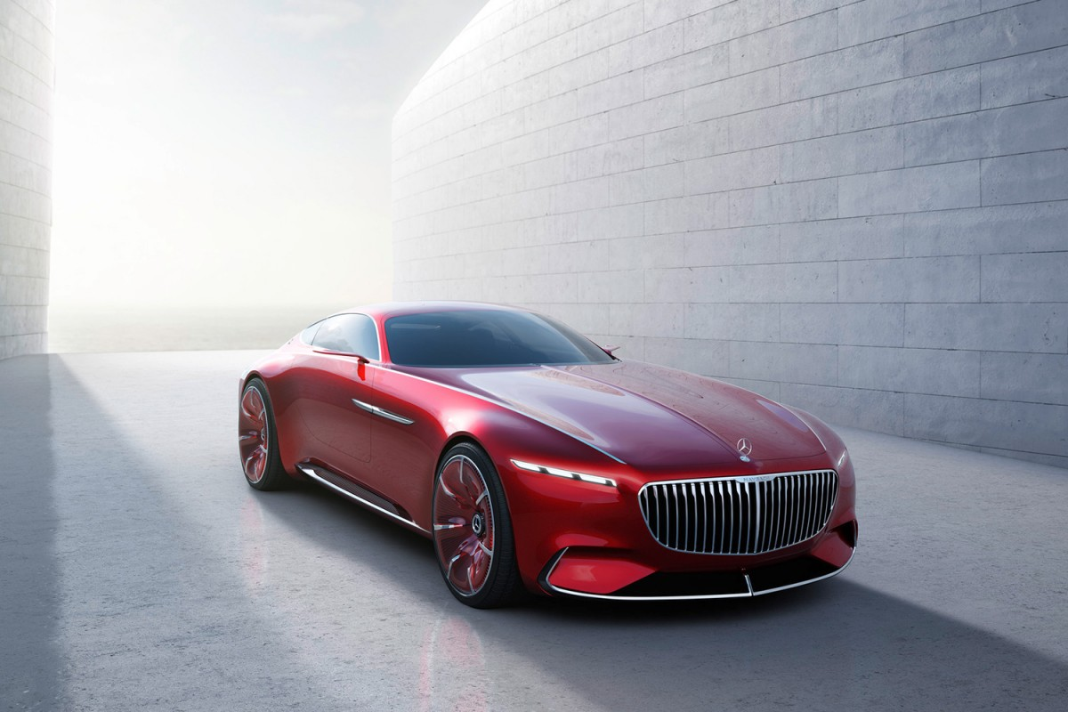 The unbelievably sexy Vision Mercedes Maybach 6 coupe concept is now official : Luxurylaunches