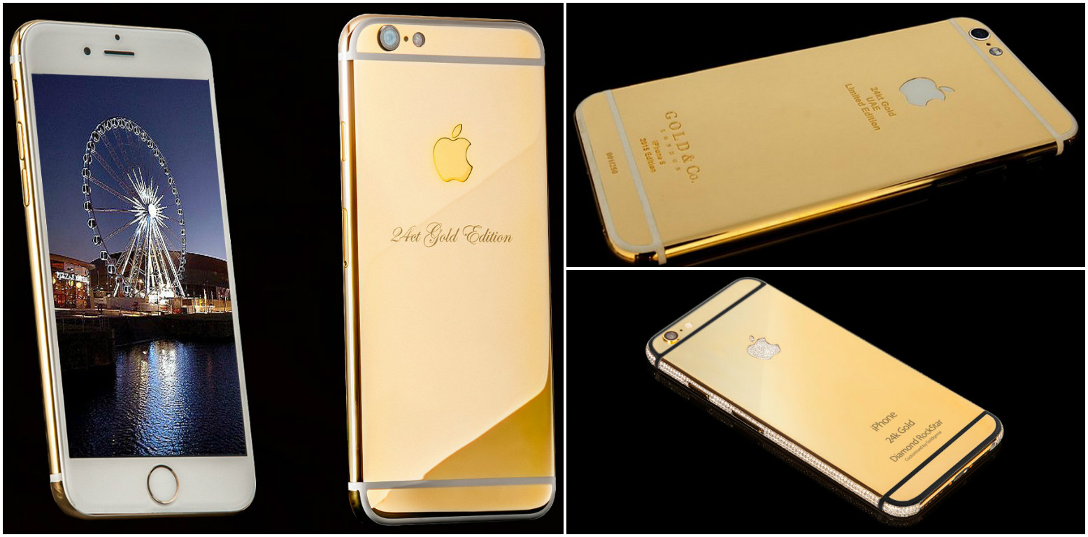 Gold, diamonds and platinum the 5 most expensive iPhones (6