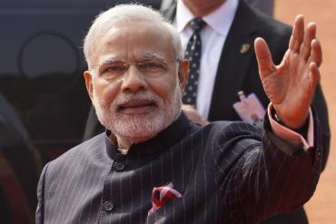 India Modi's Suit