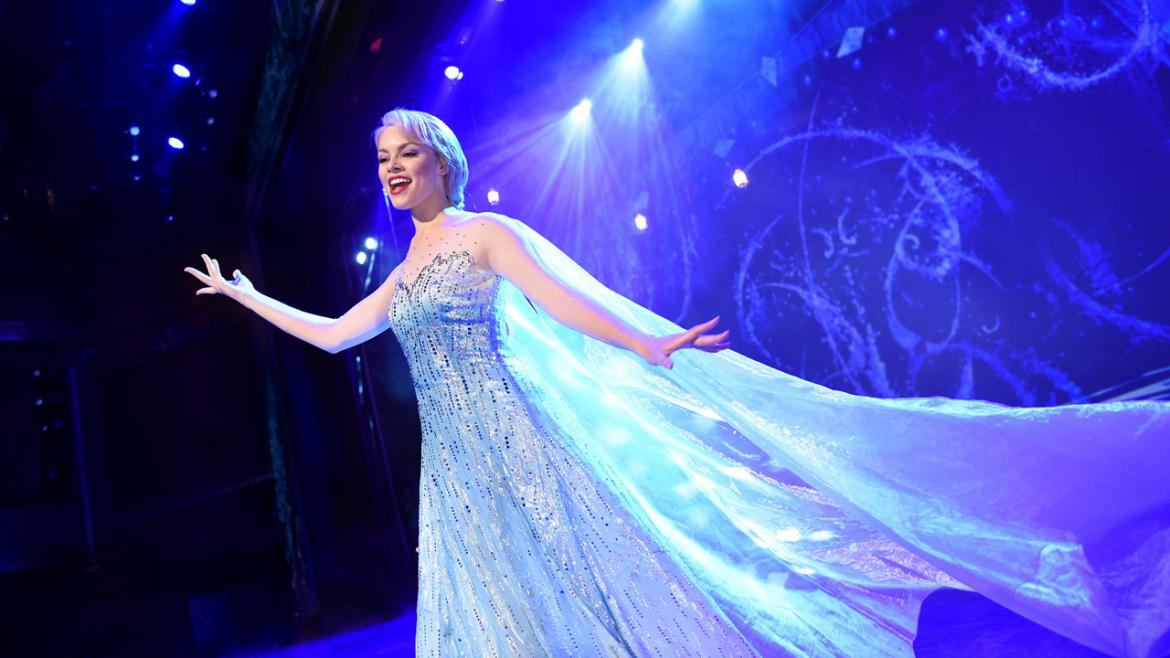musical version Frozen on cruise ships
