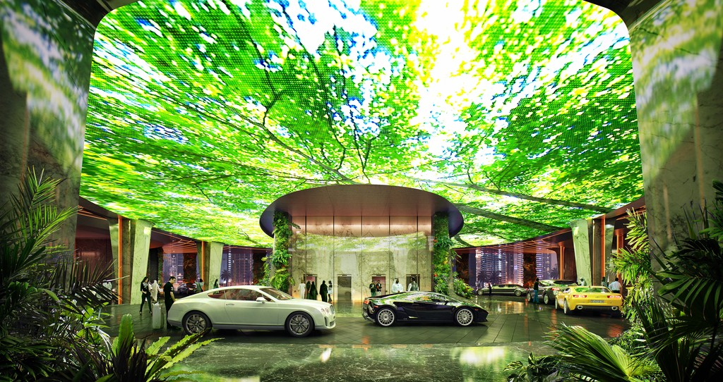 worlds first hotel with indoor rainforest dubai (2)
