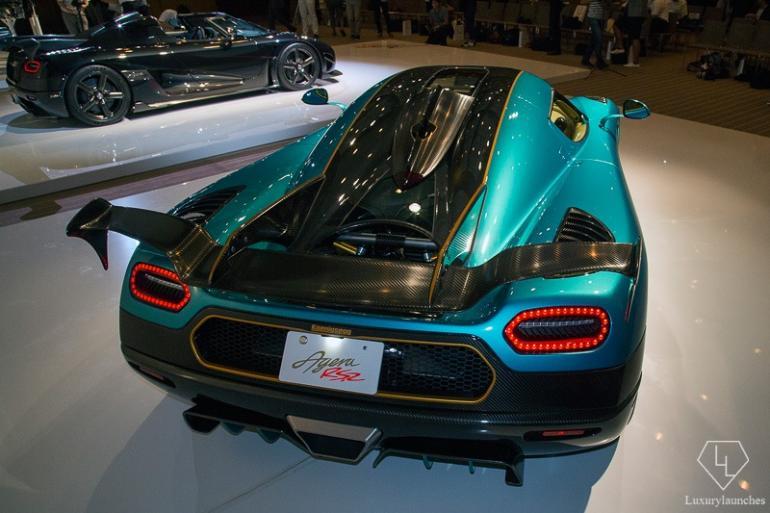 Aero shaped rear
