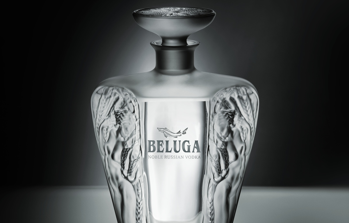 Beluga joins hands with Lalique for limited edition vodka -