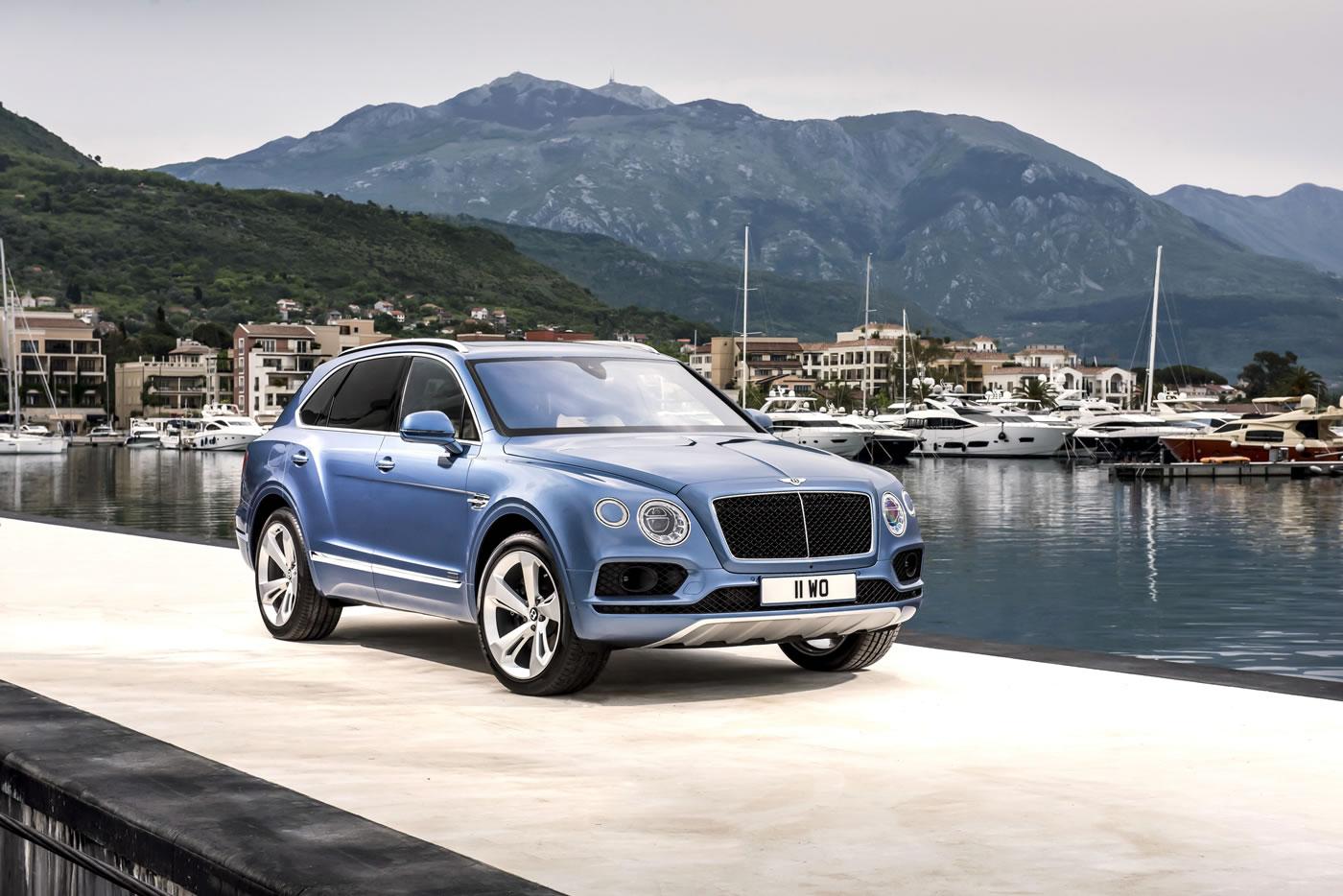 Bentley Bentayga Diesel the worlds fastest Diesel SUV -