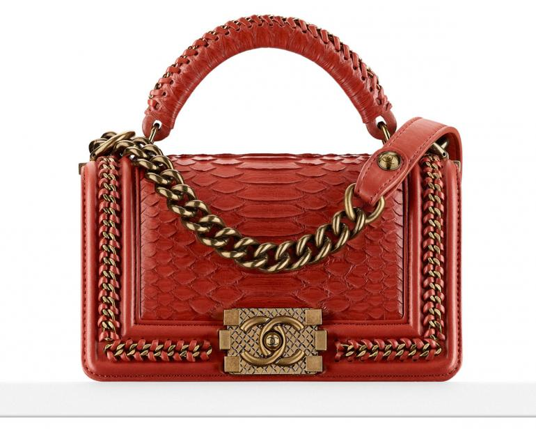 chanel-boy-bag-with-handle-in-python-and-gold-hardware