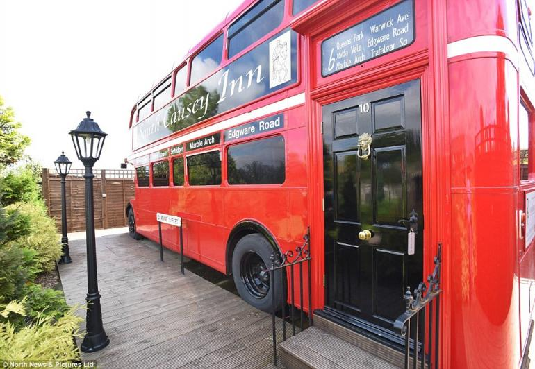 Double decker bus luxury hotel (1)