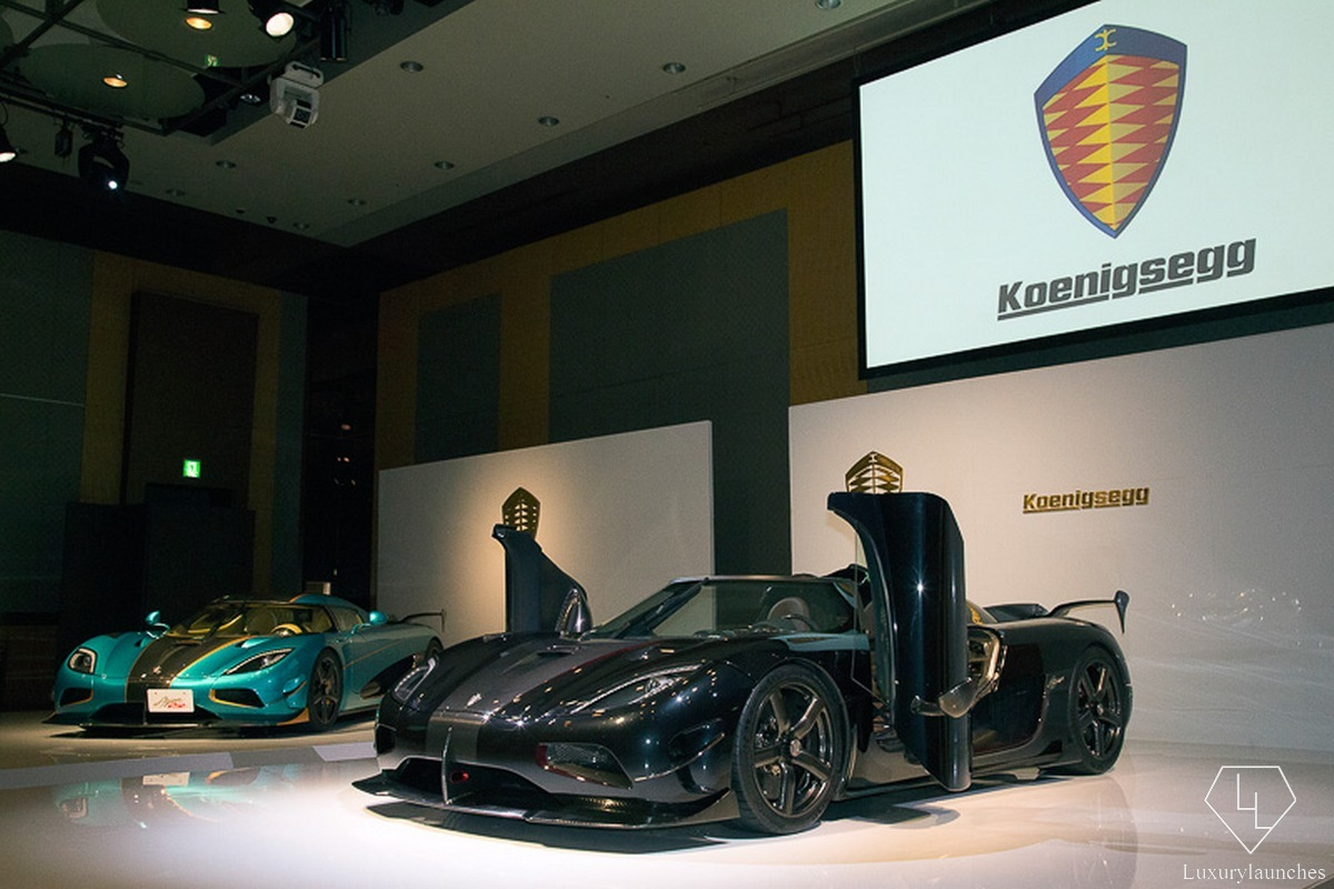 An even faster and expensive Koenigsegg - The Agera RSR debuts in Japan : Luxurylaunches