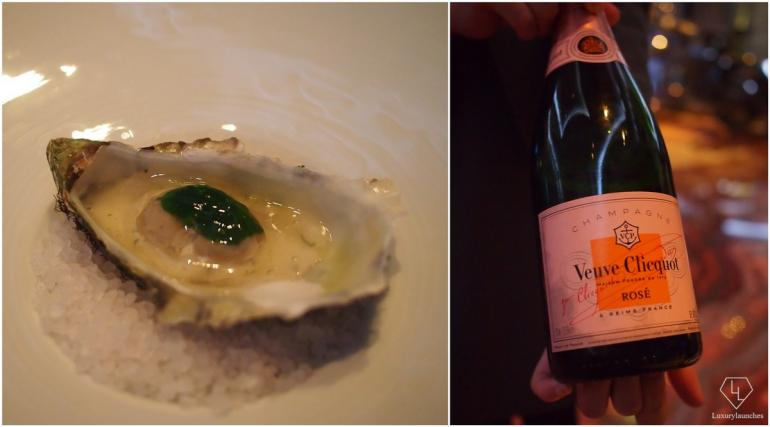 Oyster Seawater Jelly with Veuve Clicquot Rosé