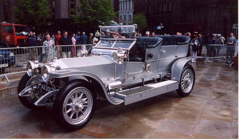 Rolls Royce didn't start selling cars with bodywork until 1946