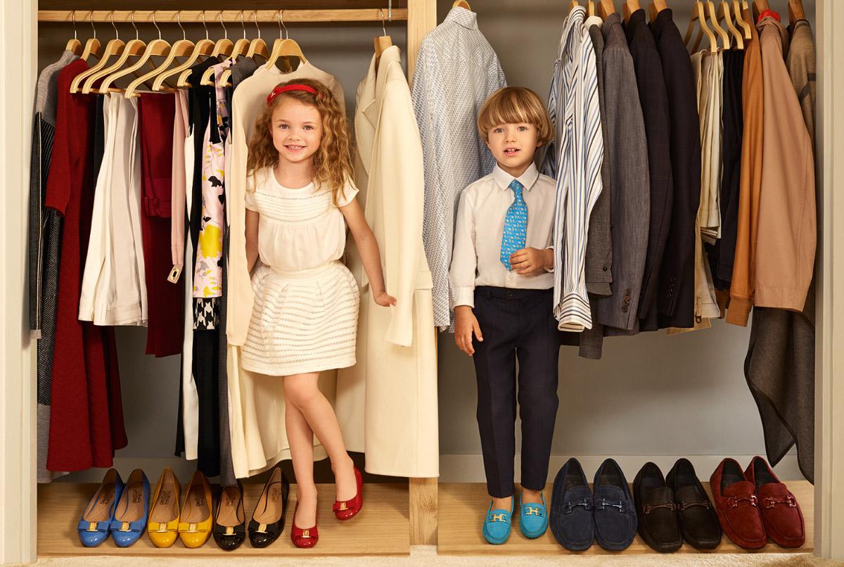 Ferragamo Mini Gets Kids To Look Like Mini Versions Of