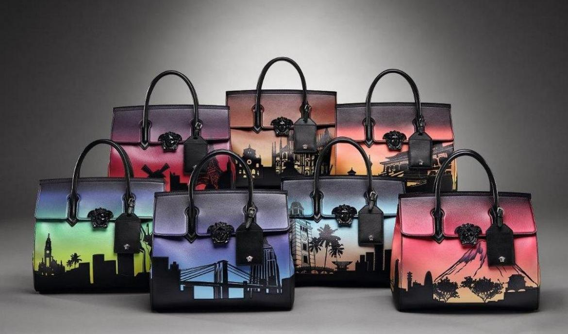Versace reveals 7 Bags for 7 Cities handbag collection