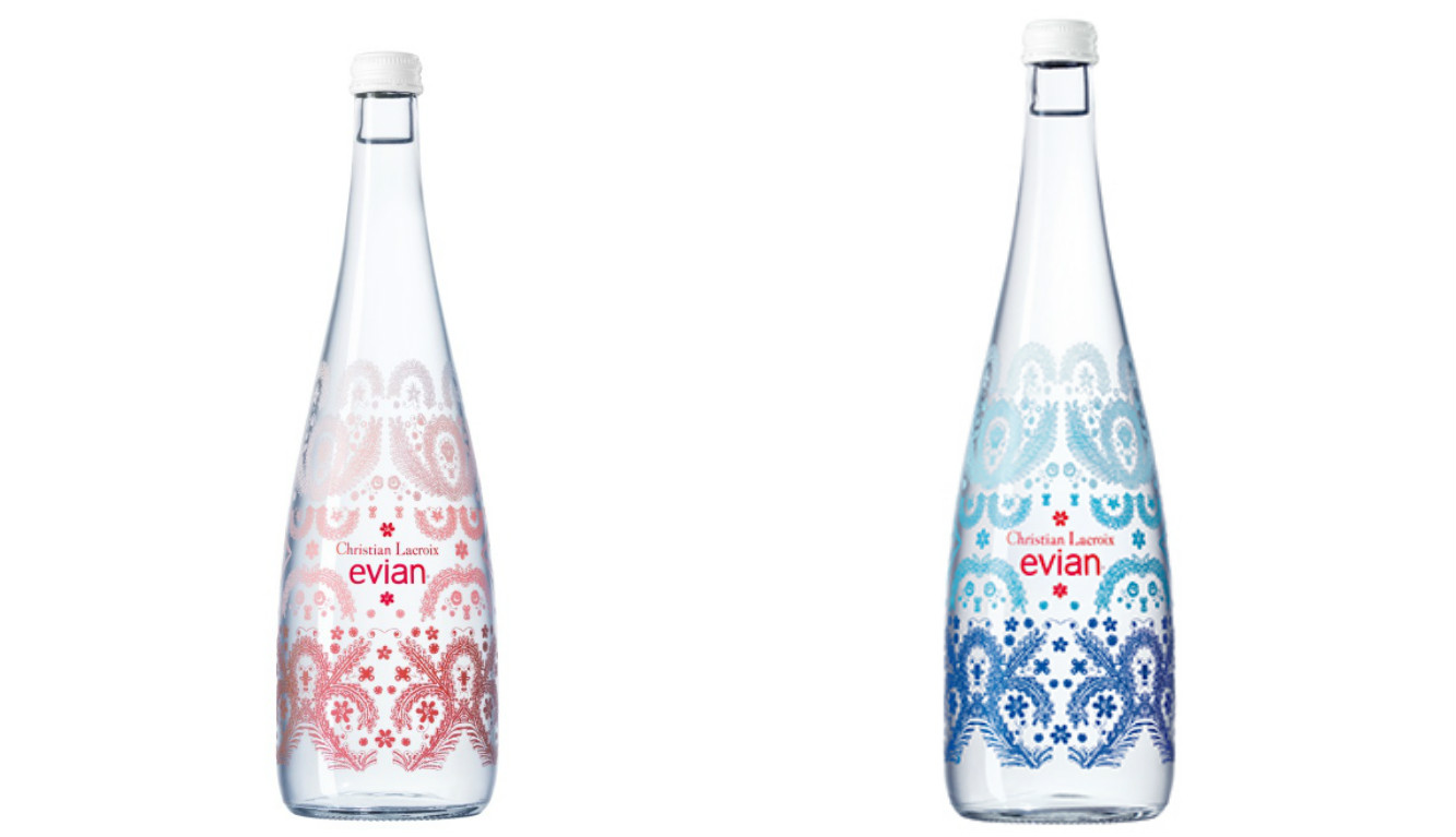 Christian Lacroix And Evian Celebrate Their 10th