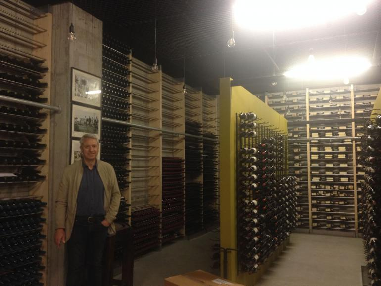 The private wine collection of Vangelis Gerovassiliou