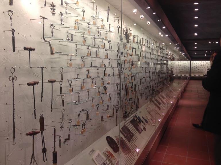 The corkscrew collection of Vangelis Gerovassiliou