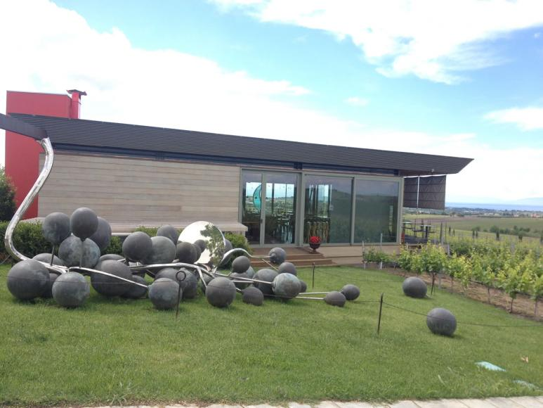 Beautiful Installation at the winery
