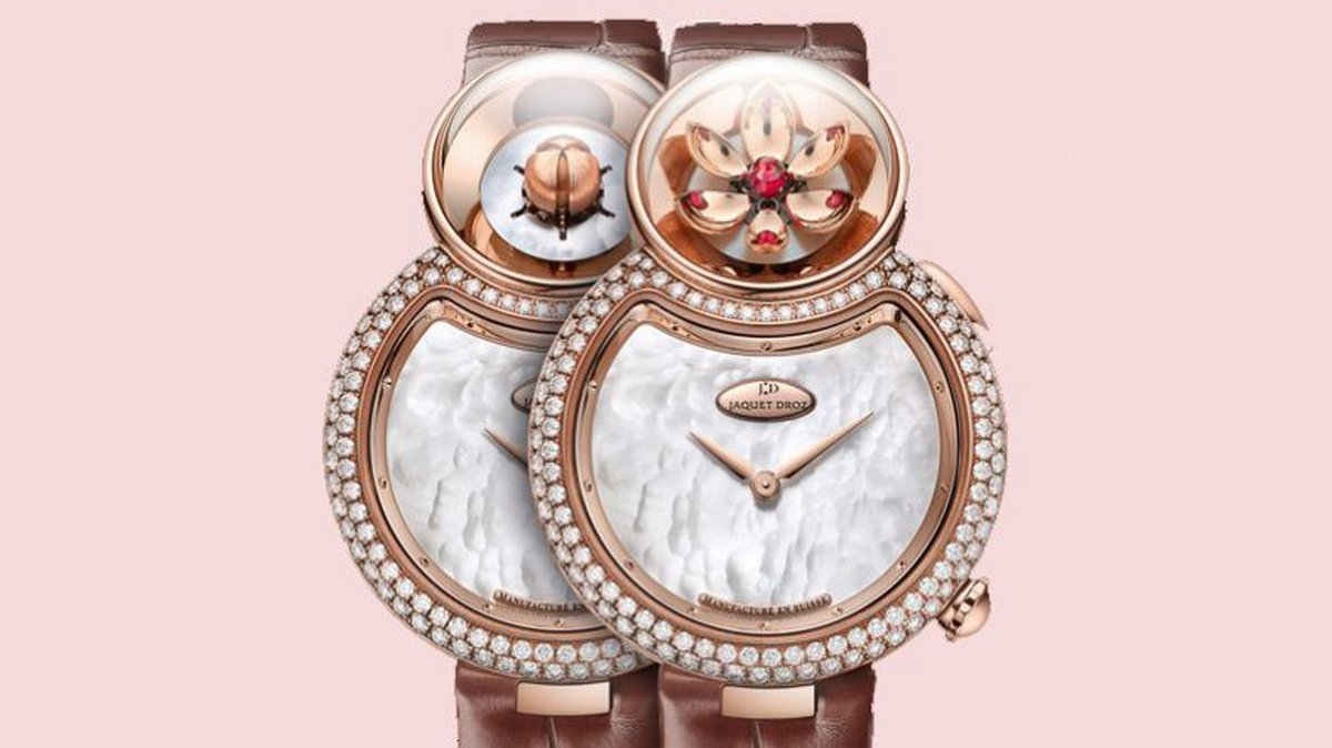 Who needs flowers when you have Jaquet Droz's blooming Lady 8 Flower watch? -