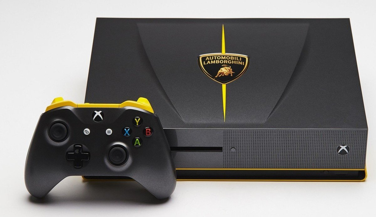 World Most Expensive Car >> Lamborghini and Mustang inspired Xbox One gaming consoles ...