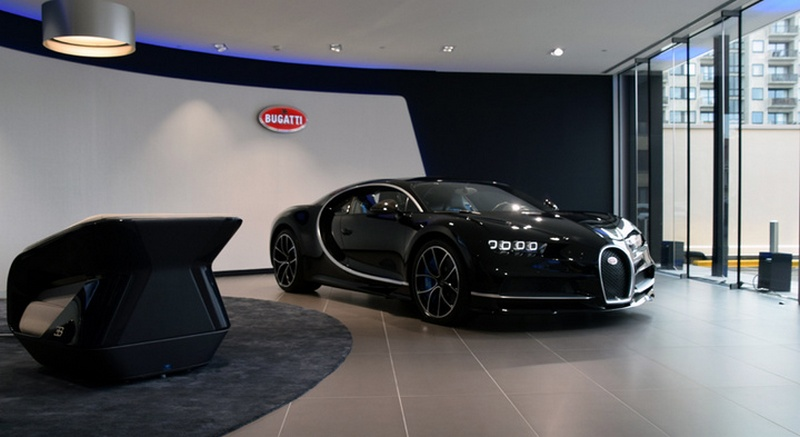 Inside The Largest Bugatti Showroom In Europe