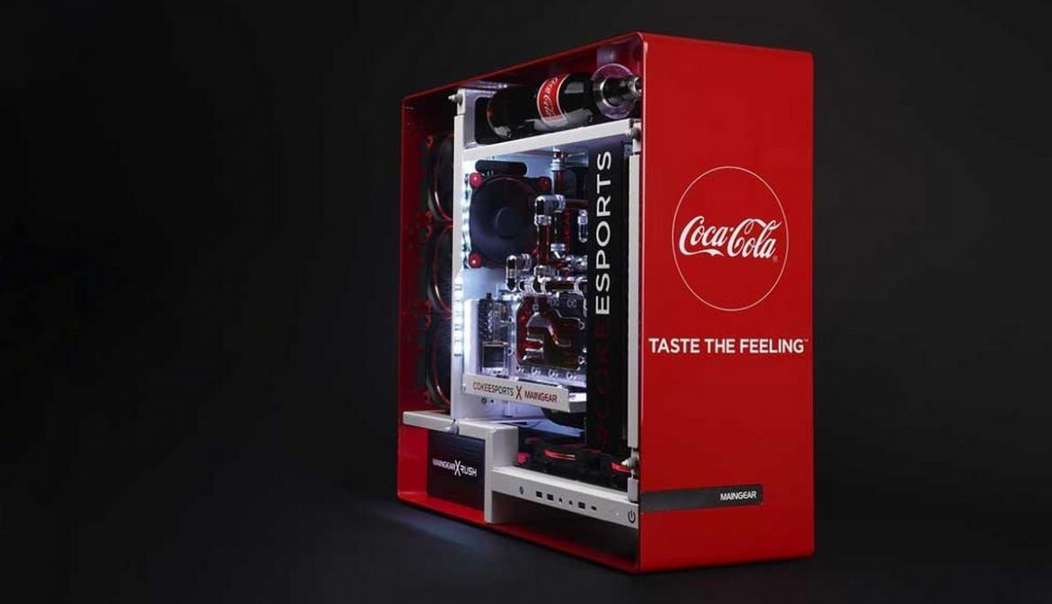 Check Out This Coca Cola Gaming Pc That You Can T Buy But