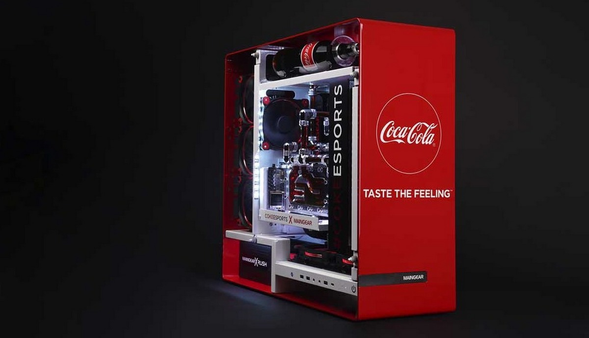 Check out this Coca-Cola Gaming PC that you can't buy (but maybe win) : Luxurylaunches