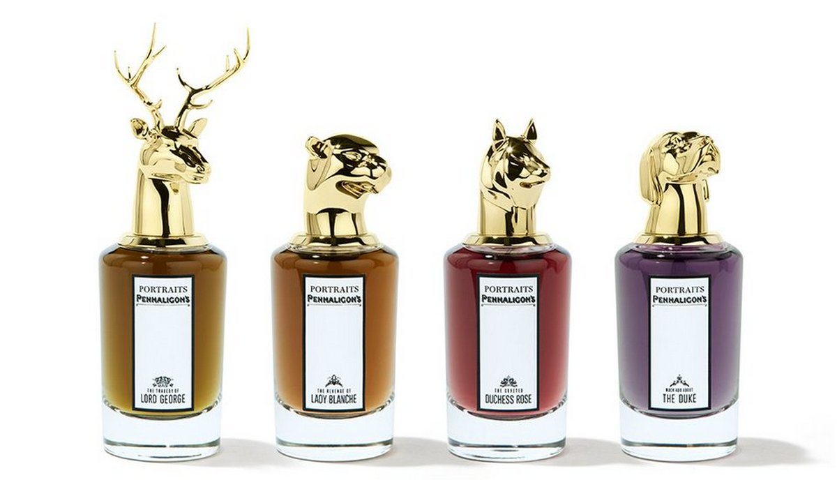 Penhaligons Portraits a fragrance collection inspired by the aristrocrats -