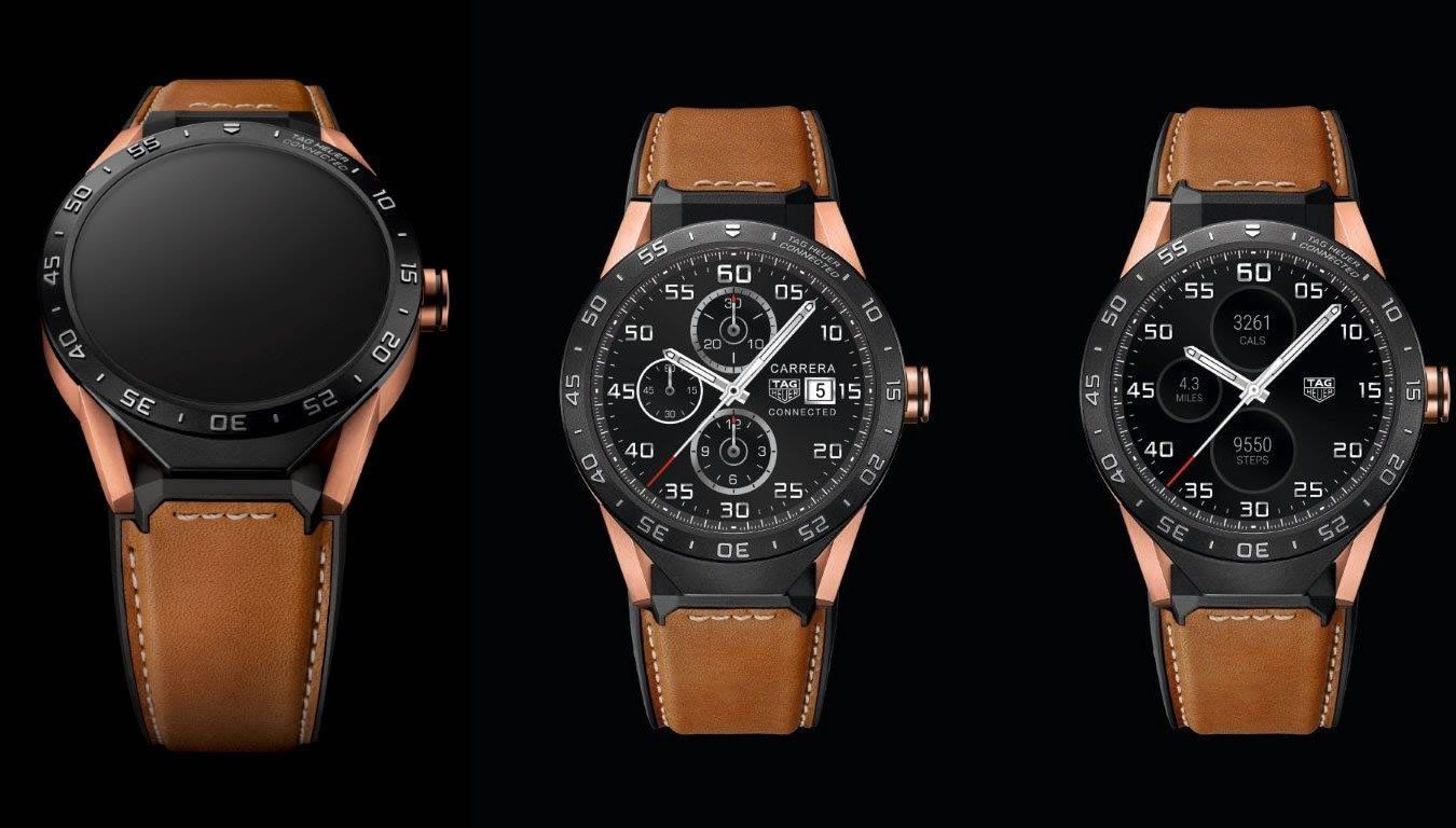 The Tag Heuer Connected Watch Will Now Come In Rose Gold